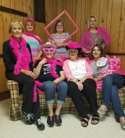 Proud members and supporters of Breast Cancer Awareness Foundation